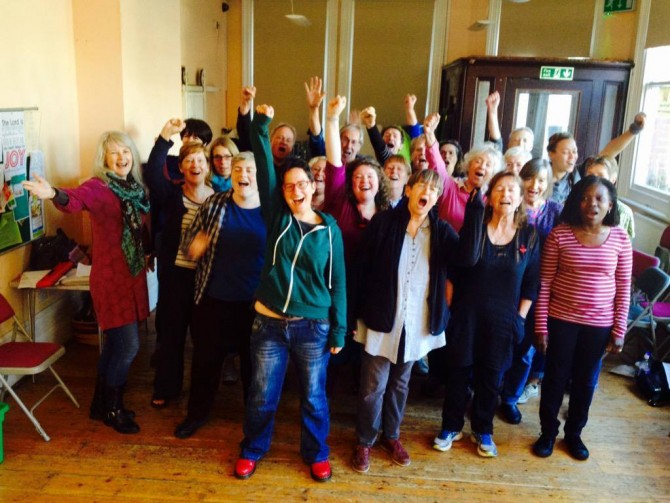 11/10/2015 Brighton Tubthumpers second workshop