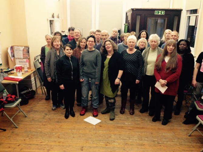 Brighton Tubthumpers Workshop 29/11/2015