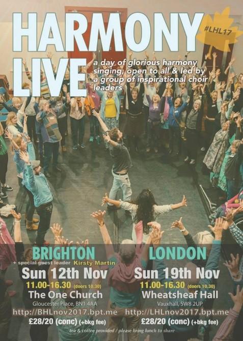 Brighton Harmony Live at One Church
