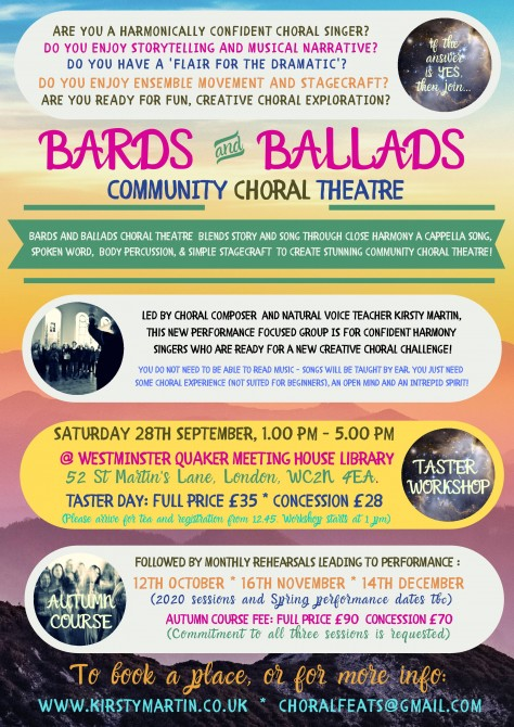Bards and Ballads, London