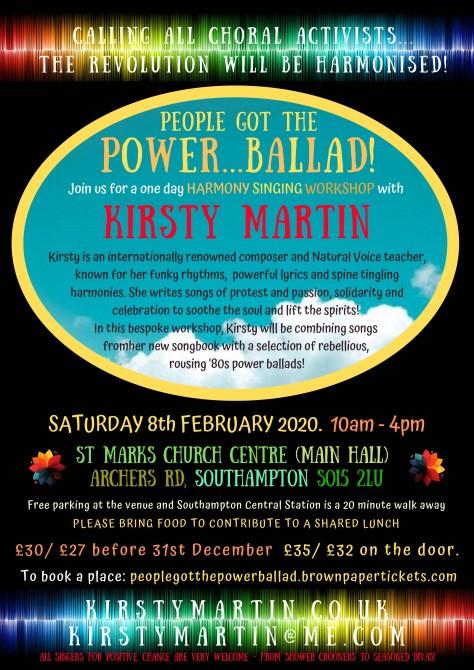 People Got the Power...Ballad