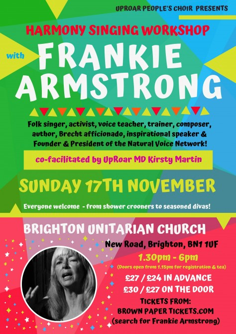 Singing Workshop with Frankie Armstrong