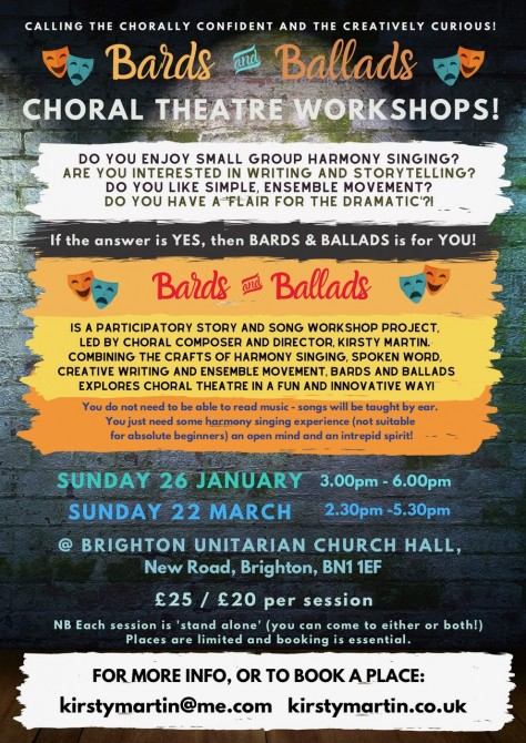 Bards and Ballads Brighton