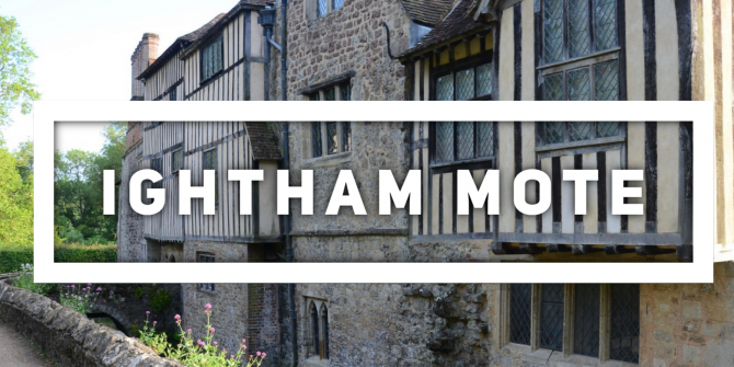 Link to Ightham Mote National Trust website