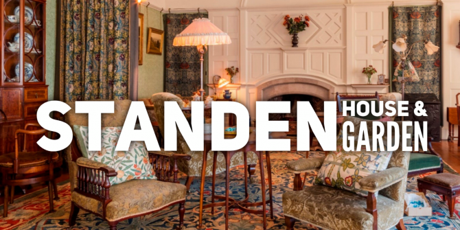 Link to Standen National Trust Website