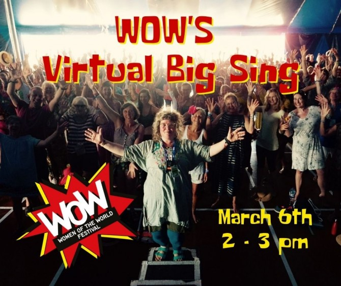 Workshop: WOW's Virtual Big Sing