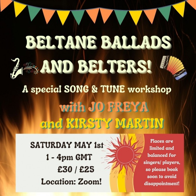 Beltane Ballads and Belters!