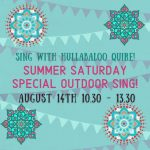 Special Summer Singing Workshop with Hullabaloo Quire